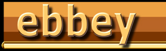 Ebbey in gold letters